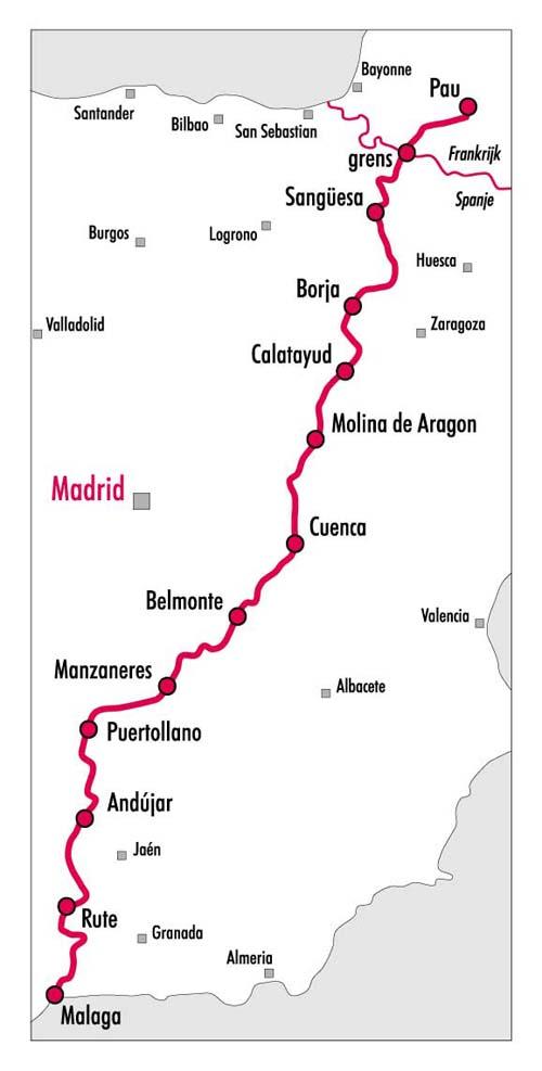 Fietsgids - In het spoor van El Cid- Burgos tot Valentia- PIROLA